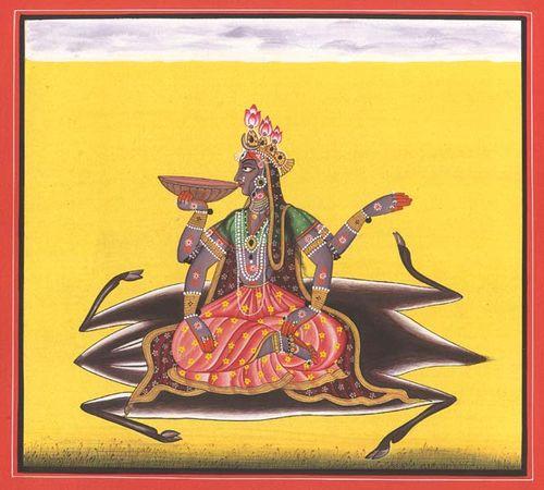 Kalaratri tantric devi series